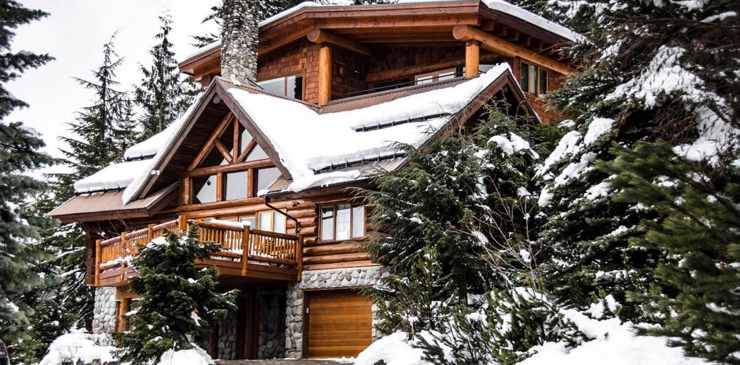 Whistler 5 Bed Ski In Ski out Exterior