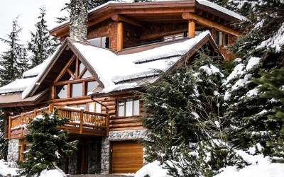 Snowridge Log Chalet 5 or 7 Bedroom