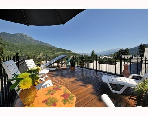 Whistler 5 Bedroom Rental Roof Top Deck