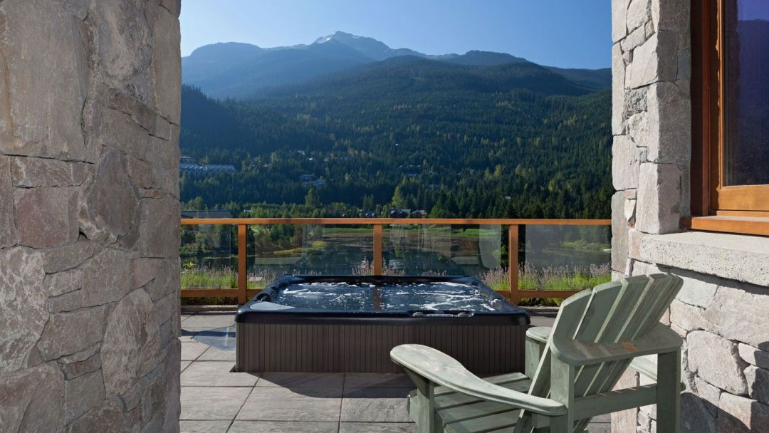 Whistler 8 Bedroom Rental Home Hot Tub