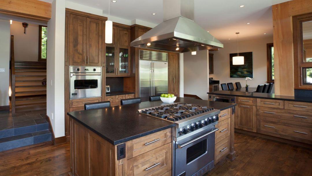 Whistler 8 Bedroom Rental Home Kitchen