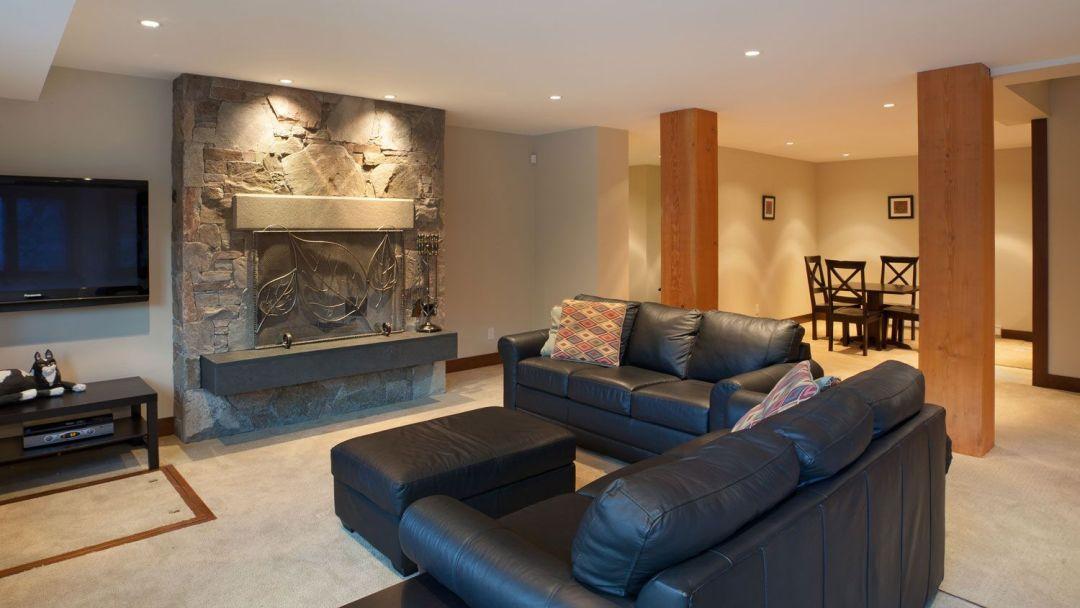 Whistler 8 Bedroom Rental Home Media Rm