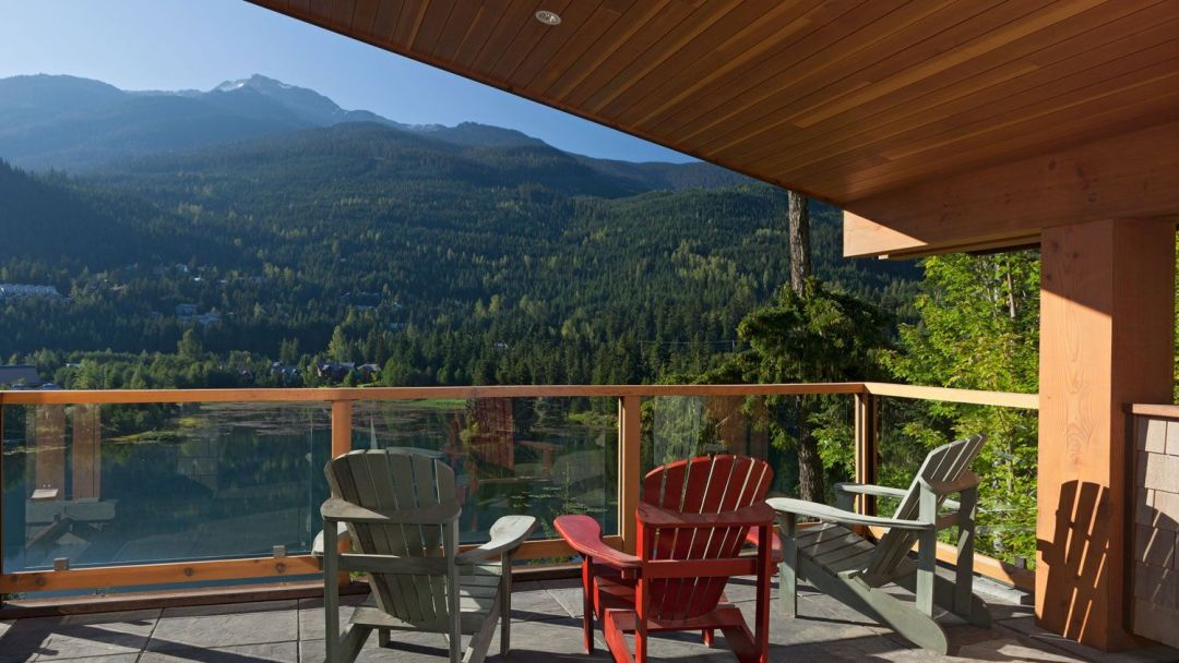 Whistler 8 Bedroom Rental Home View Summer