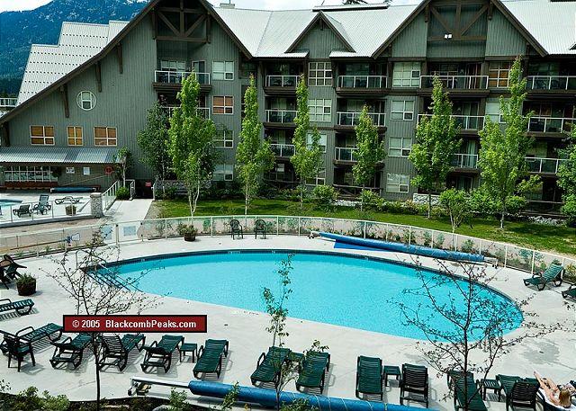 Whistler Accommodation Aspens on Blackcomb 355 Pool