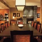 Whistler Four Seasons Resort 3 Bedroom and Den Resort Residence Dining Room