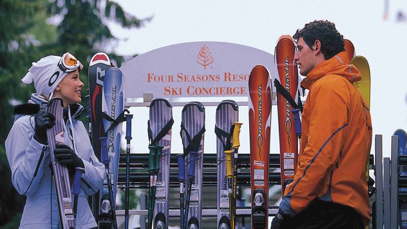 Whistler Four Seasons Resort Ski Concierge