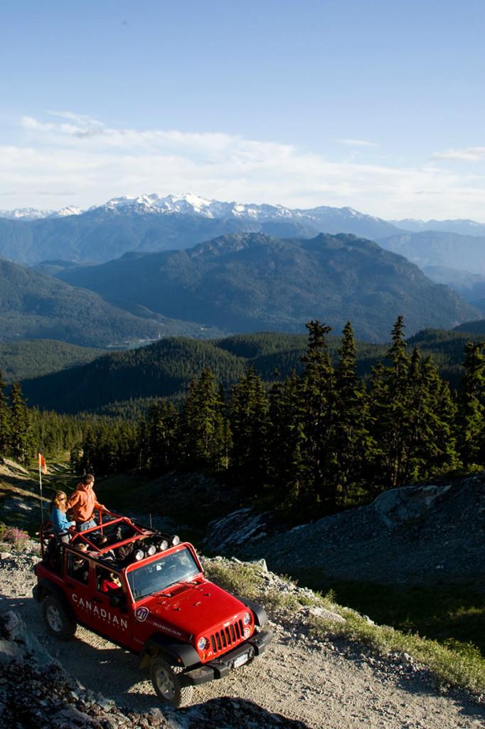 Whistler Jeep Tour 4 x 4 Cdn Wilderness