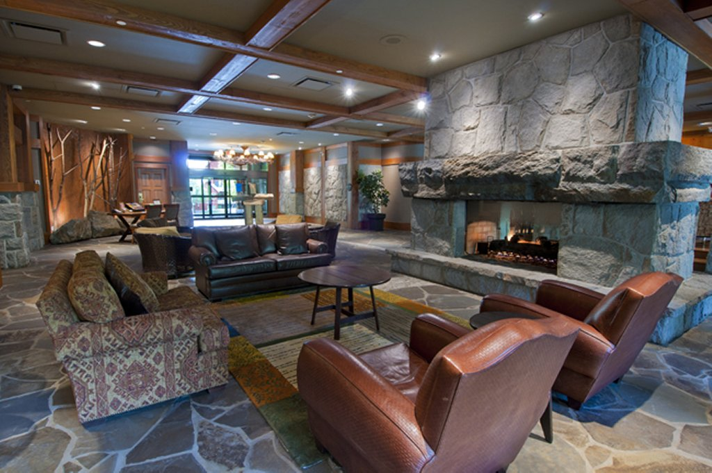 Whistler Luxury Hotel Ski In Ski Out First Tracks Lodge Lobby