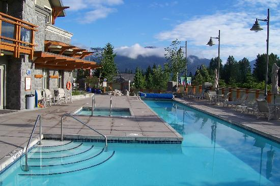 Whistler Pan Pacific Village Centre Pool Area