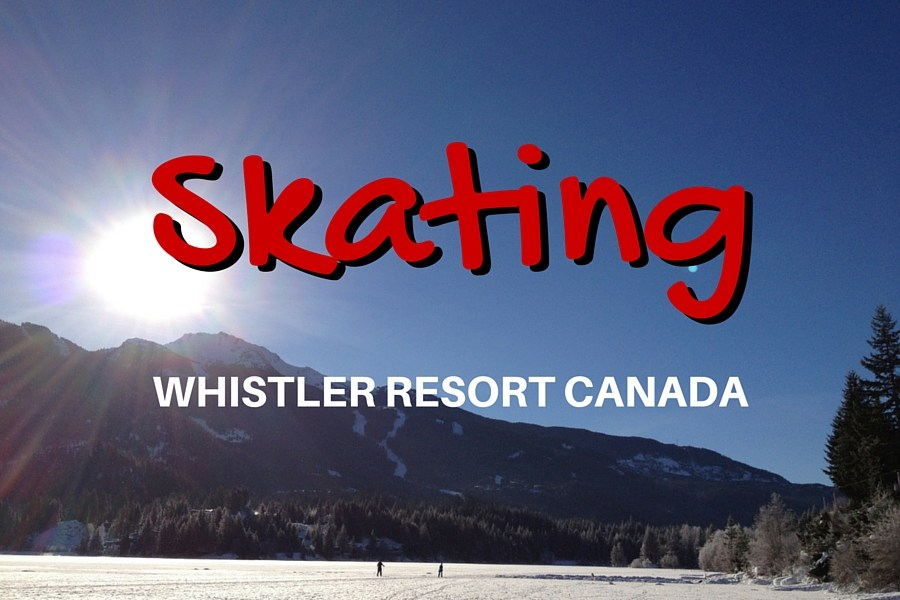Ice Skating Whistler Style