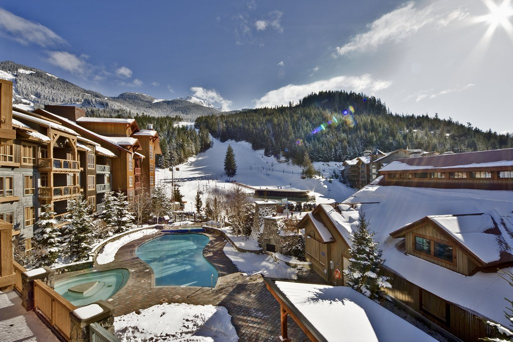 Whistler The Legends Legends Pool Winter