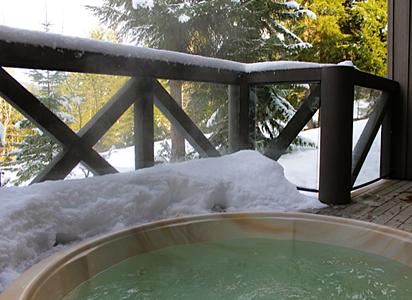 Whistler Ski In Ski out Pinnacle Ridge Hot Tub