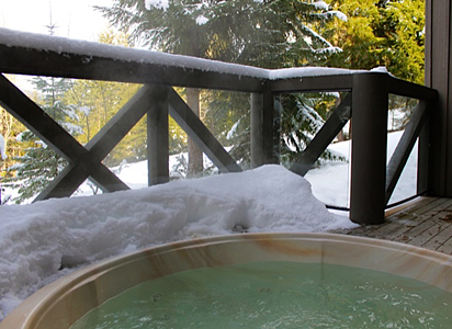 Whistler Ski In Ski out Pinnacle Ridge Hot Tub