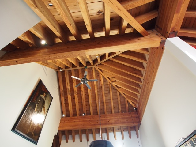 whistler village penthouse ceilings