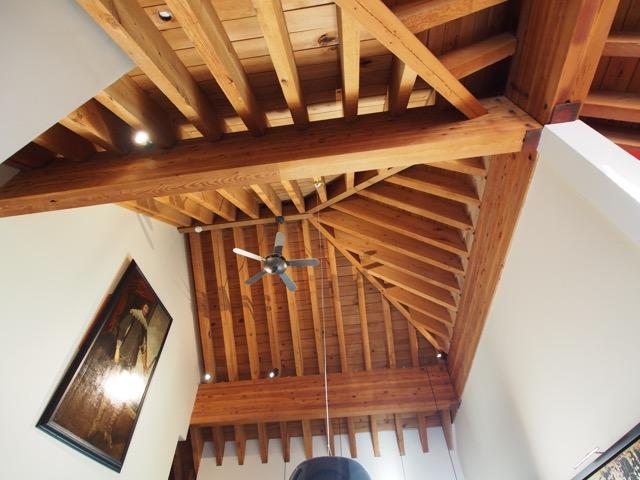 whistler village penthouse ceilings