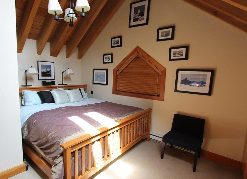 whistler village penthouse king room