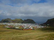 Heimaey is the small fishing town nestled on the islands.