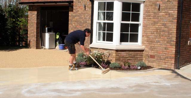 resin driveways diy