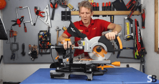 Evolution RAGE3-S 210mm Sliding Compound Mitre Saw