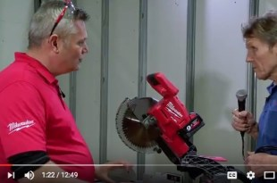 Milwaukee Dual Bevel Mitre Saw