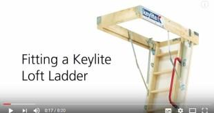 Keylite loft ladder