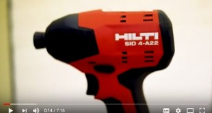 Hilti SID 4-A22 Impact Driver Review