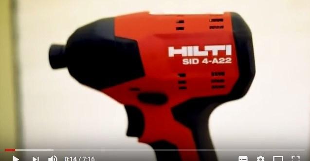 Hilti impact driver review