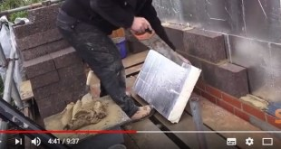 Building an extension part 4 – Brickwork & Insulation featuring Rigid thermal PIR insulation