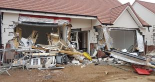 Builder destroys newly built cottages as revenge for not being paid