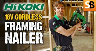 First Fix HiKOKI Cordless Framing Nailer
