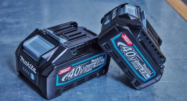 Makita XGT 40v batteries