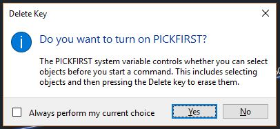 AutoCAD is not working properly? (Pickfirst could be the problem!) AutoCAD Tips