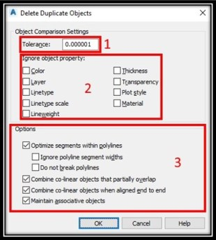 OVERKILL! Or how to erase duplicate objects Easy and Fast! AutoCAD Tips