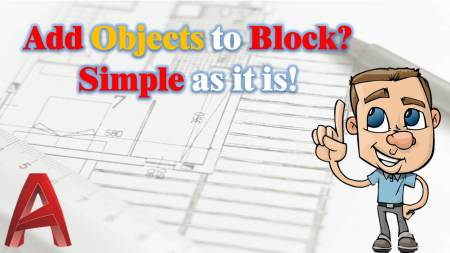 Adding objects to existing block