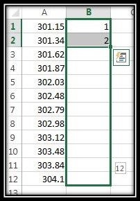Use help column Excel