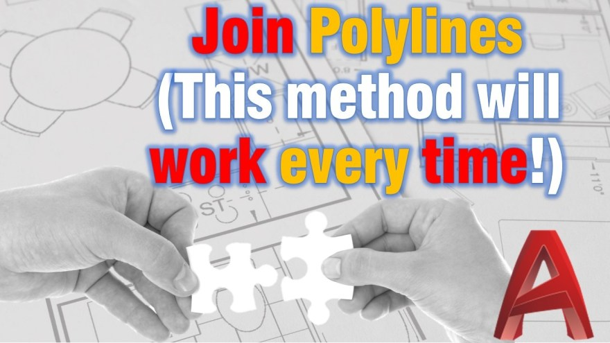 How to join polylines like pro!