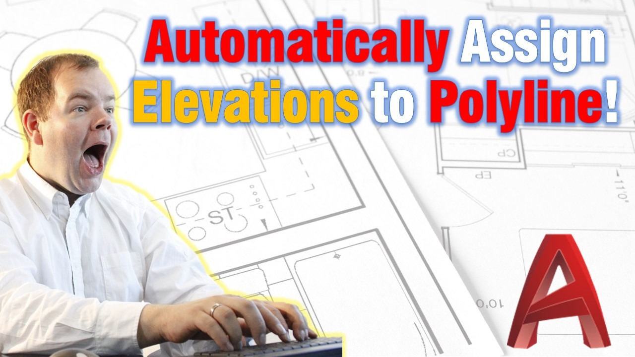 Set Elevations to polyline Automatically!