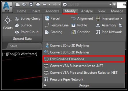 Automatically Assign Elevations to Polyline (Set Elevations to Polyline!) AutoCAD Tips