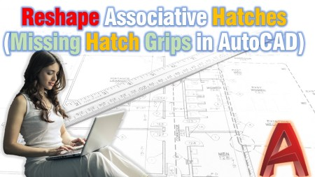 Reshape Associative Hatches (Missing Hatch Grips in AutoCAD) AutoCAD Tips