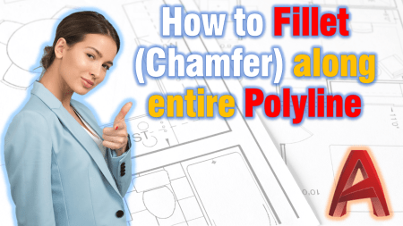 Fillet (chamfer) along entire Polyline!