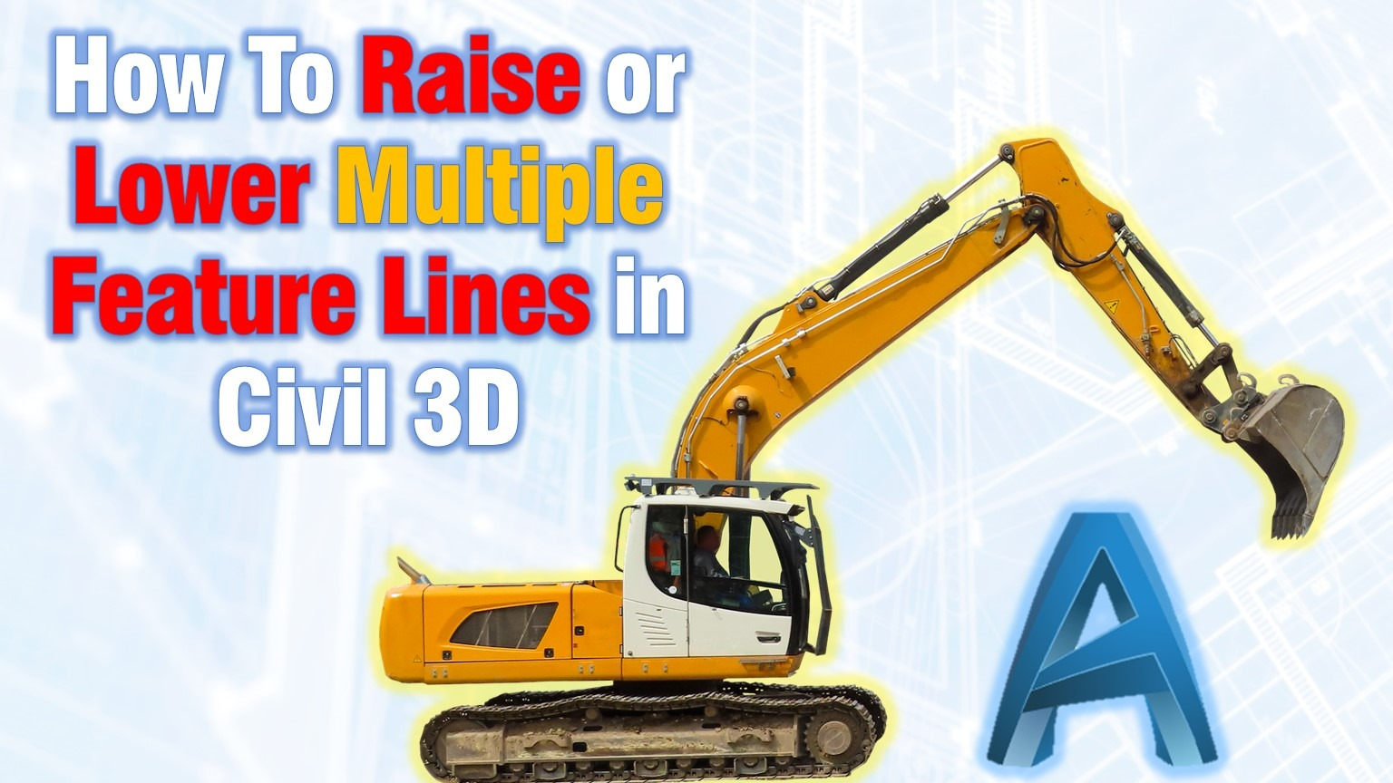 Raise Lower Feature Lines Civil 3D