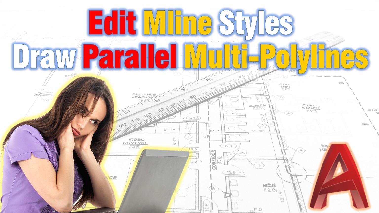 how to dral multiple parallel polylines