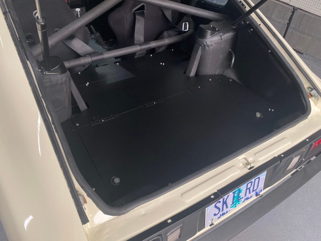 Spare Tire Compartment Lid