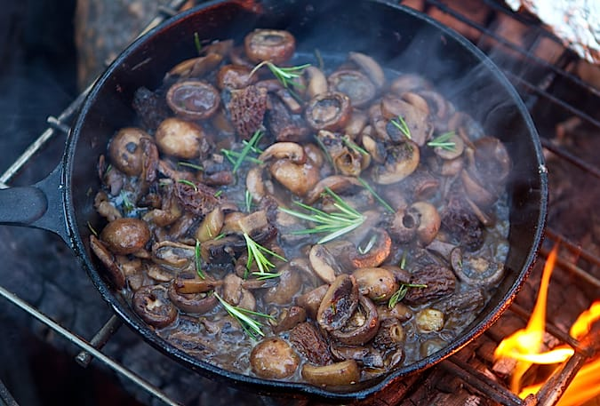 Campfire Mushrooms