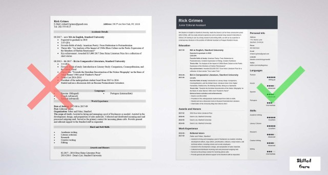 How to Make a RESUME for First Job - Resume with no Experience [20]