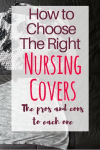 How to choose the right nursing cover