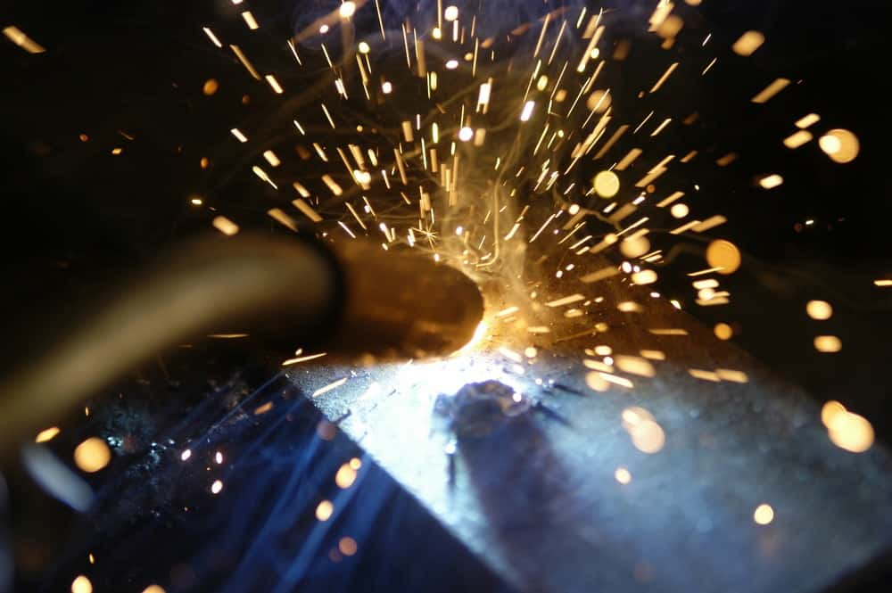 How to reduce spatter when flux core welding