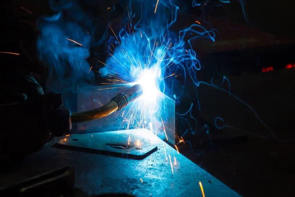 How to fix warped sheet metal after welding