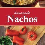 Homemade and Easy Vegetarian Nachos