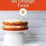 The best carrot cake with an orange twist